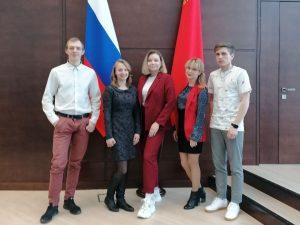Студенты ДИНО на встрече в Доме Правительства